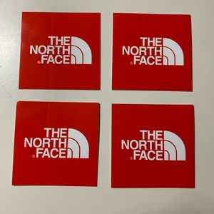 🧤north face stickers🧤